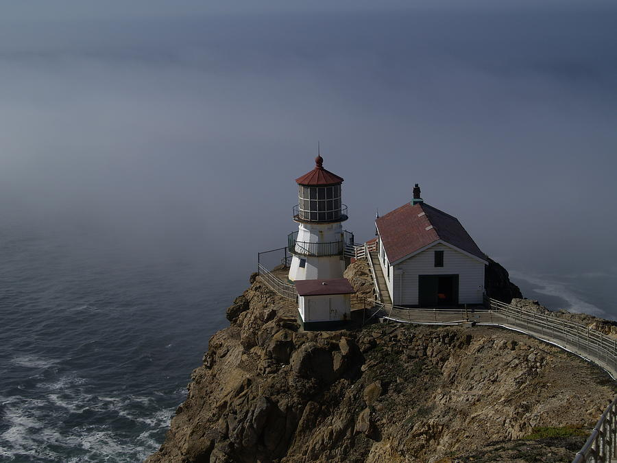 Pacific Ocean Photograph - Pt Reyes Lighthouse by Bill Gallagher