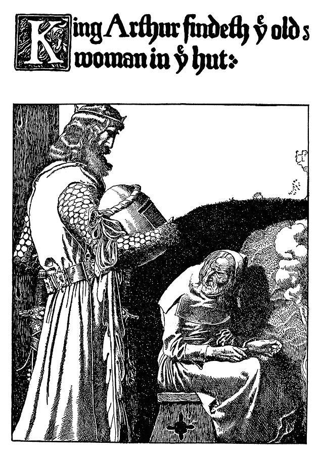 1903 Drawing - Pyle King Arthur by Granger