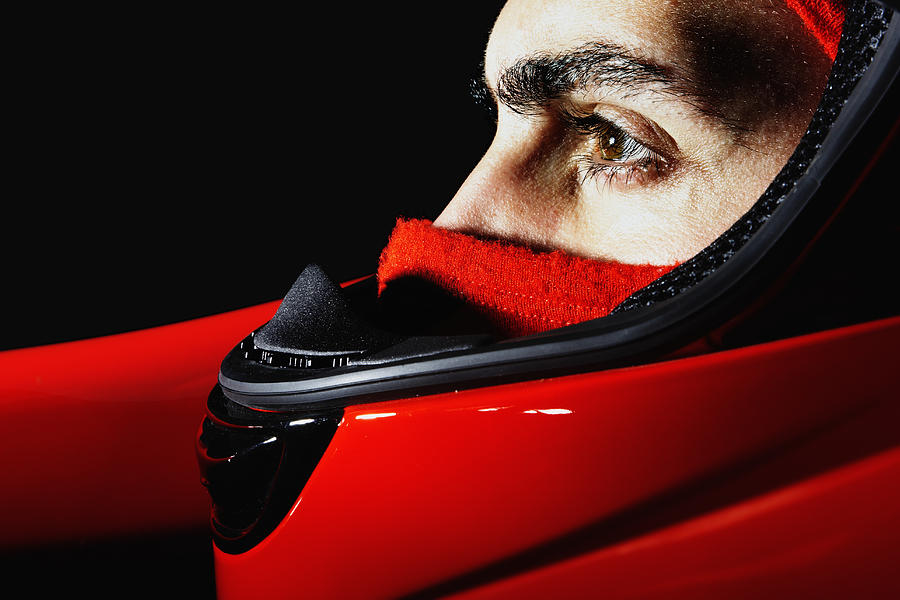 Racecar Driver Photograph by Fuse