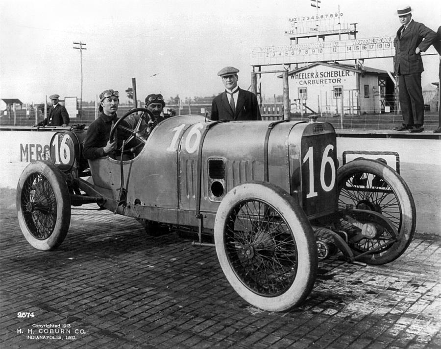 America Photograph - Racecar Drivers, C1913 by Granger