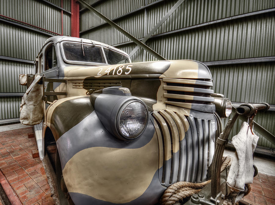 Hdr Photograph - Ready To Roll by Wayne Sherriff