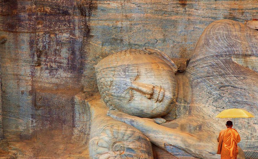 Reclining Buddha Photograph by Grant Faint
