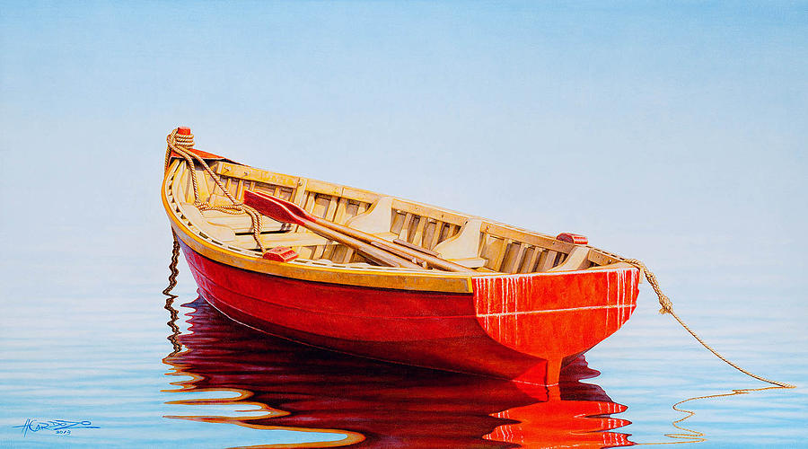 Red Boat by Horacio Cardozo