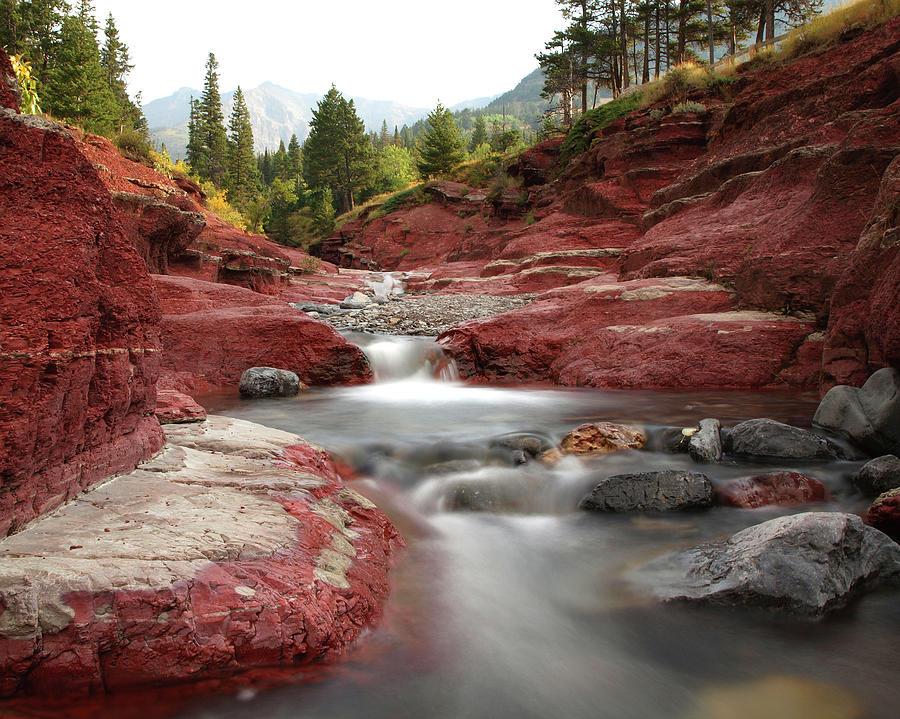 Red Rock Canyon Photograph by K. D. Kirchmeier