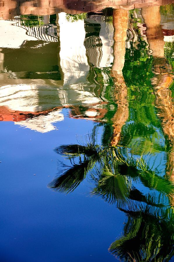 Reflection Gabezo And Trees 29478 Photograph