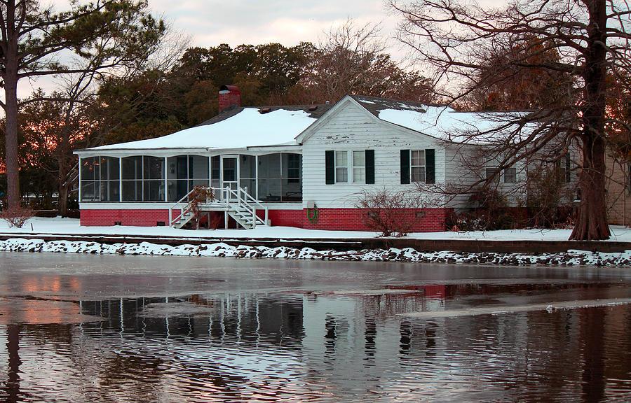 House Photograph - Reflections by Carolyn Ricks