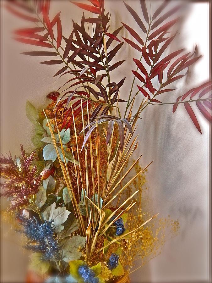 Summer Bouquet Photograph - Remnants Of Summer by Randy Rosenberger