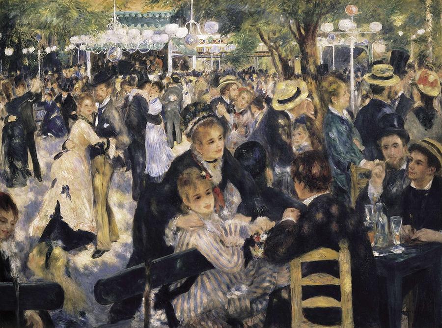 Horizontal Photograph - Renoir, Pierre-auguste 1841-1919. Ball by Everett