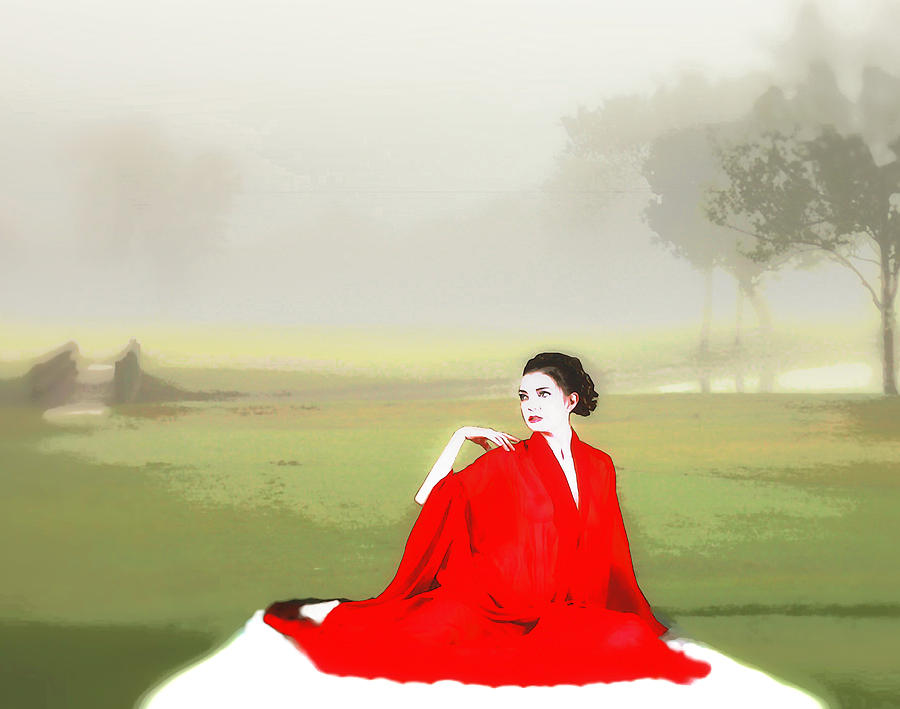 Beauty Photograph - Repose in the fog by Richard Hemingway