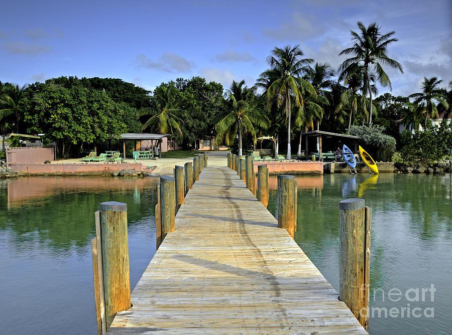 Keys Photograph - Resort by Bruce Bain