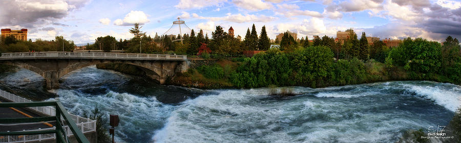 Spokane Photograph - Riverflow by Dan Quam