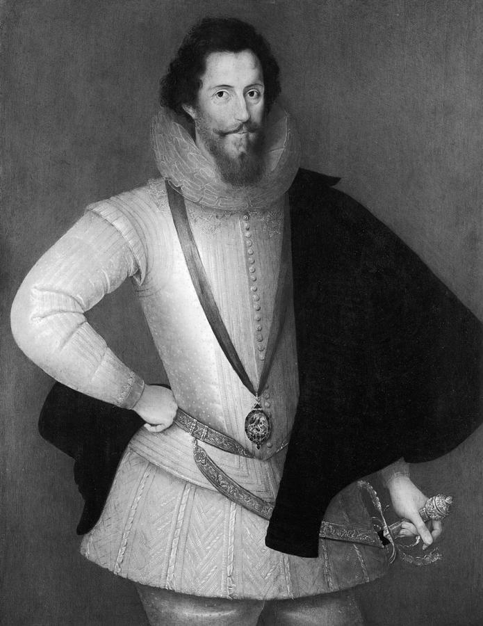 1597 Painting - Robert Devereux (1566-1601) by Granger