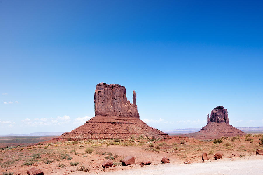Rock On Monument Valley Photograph by Marcomarchi