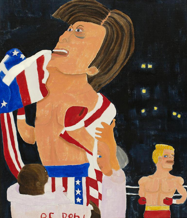 Rocky Balboa Painting - Rocky Balboa by Don Larison
