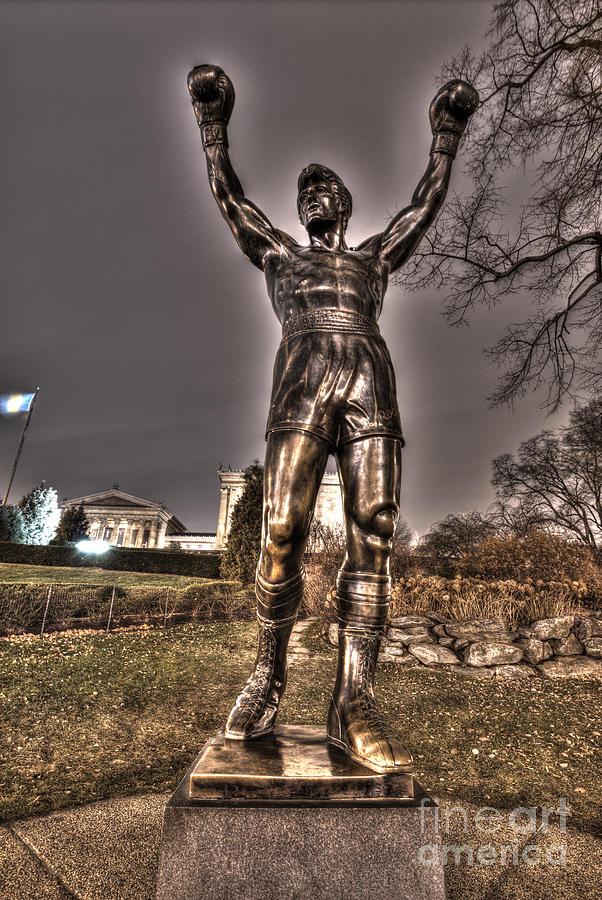 Philadelphia Photograph - Rocky Balboa by Mark Ayzenberg