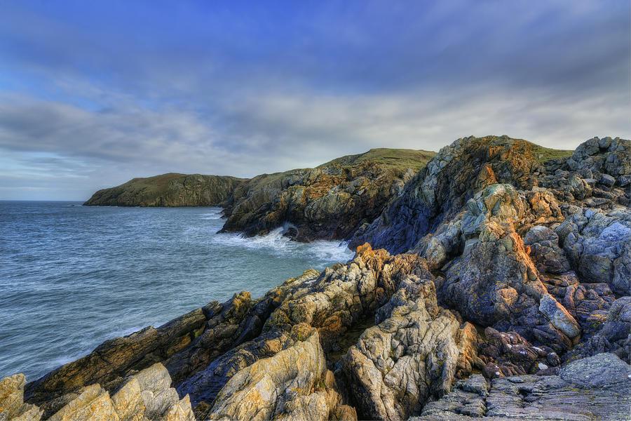 Beach Photograph - Rocky Ocean by Ian Mitchell