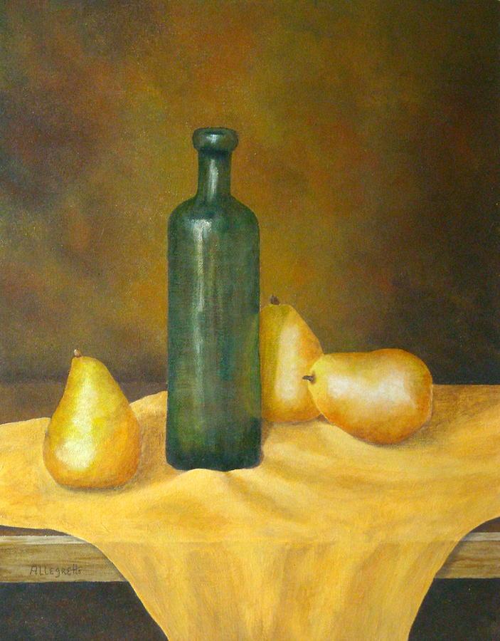 Allegretto Art Painting - Roman Table by Pamela Allegretto