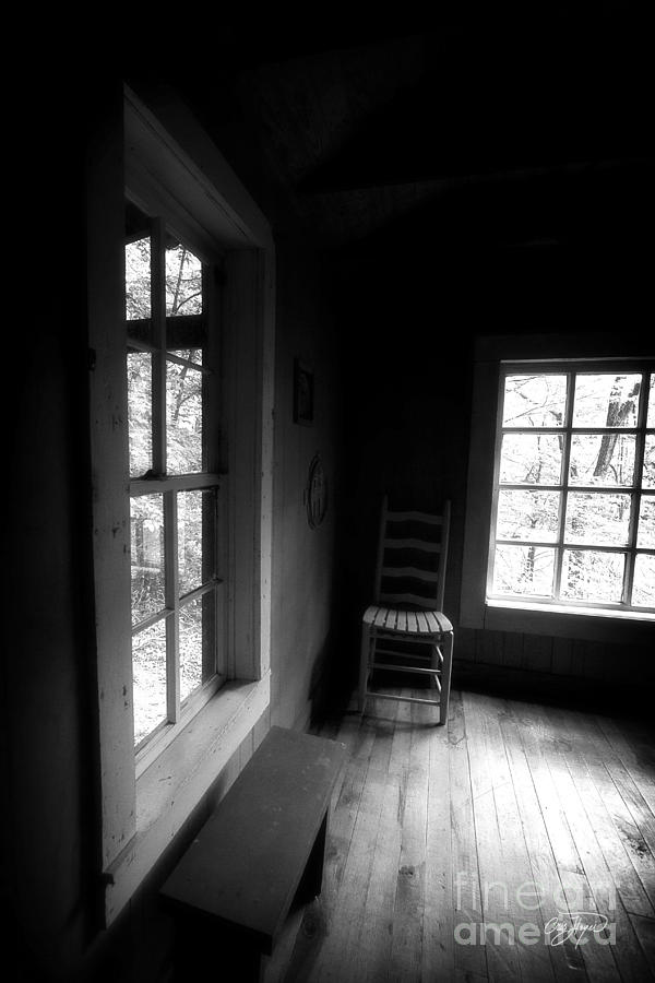 Cabin Photograph - Room With A View by Cris Hayes