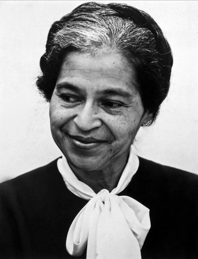 1973 Photograph - Rosa Parks by Granger