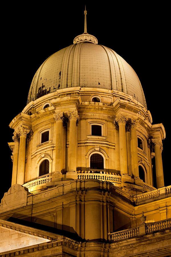 Royal Photograph - Royal Palace Dome In Budapest by Artur Bogacki