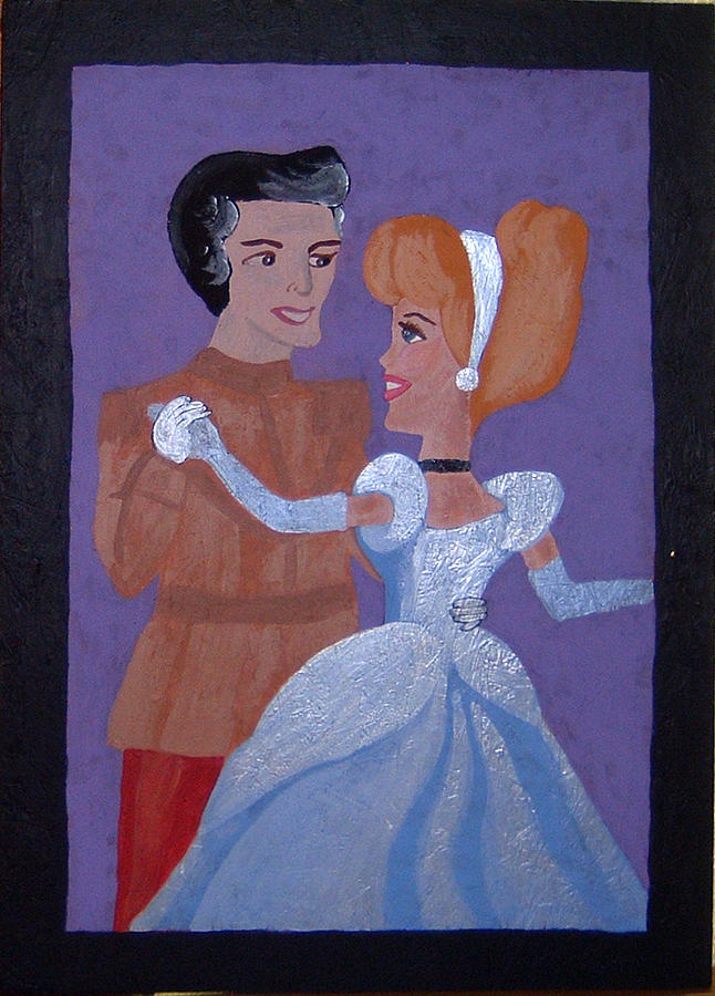 Royalty Painting - Royal Romantics by Yvonne  Kroupa