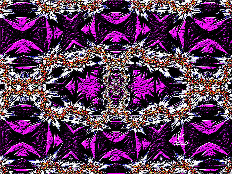 Fractal Digital Art - Royal Tea by Janet Russell