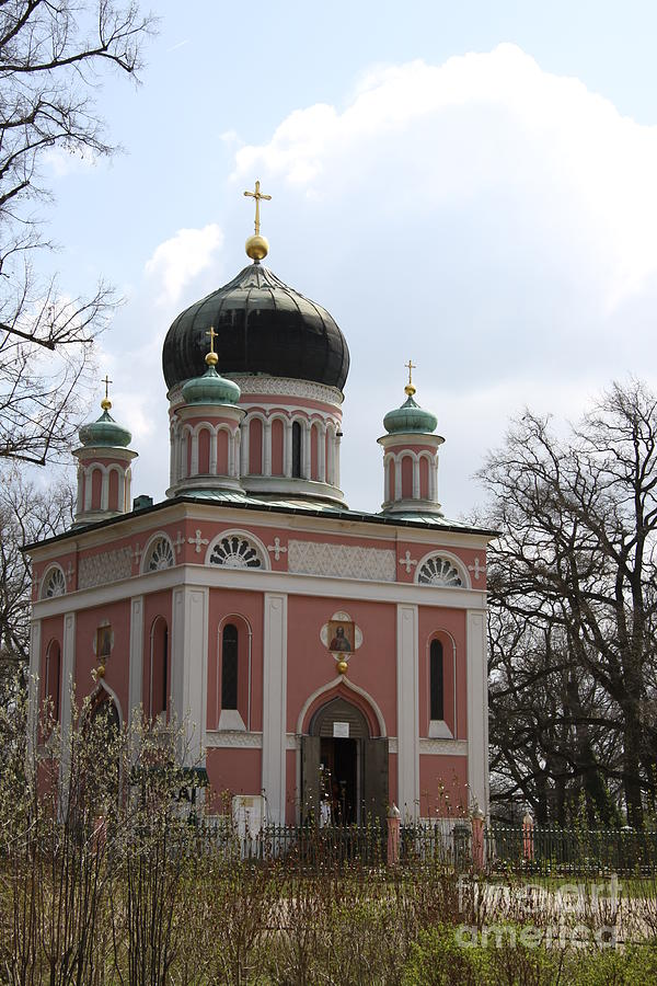 Church Photograph - Russian Church by Christiane Schulze Art And Photography