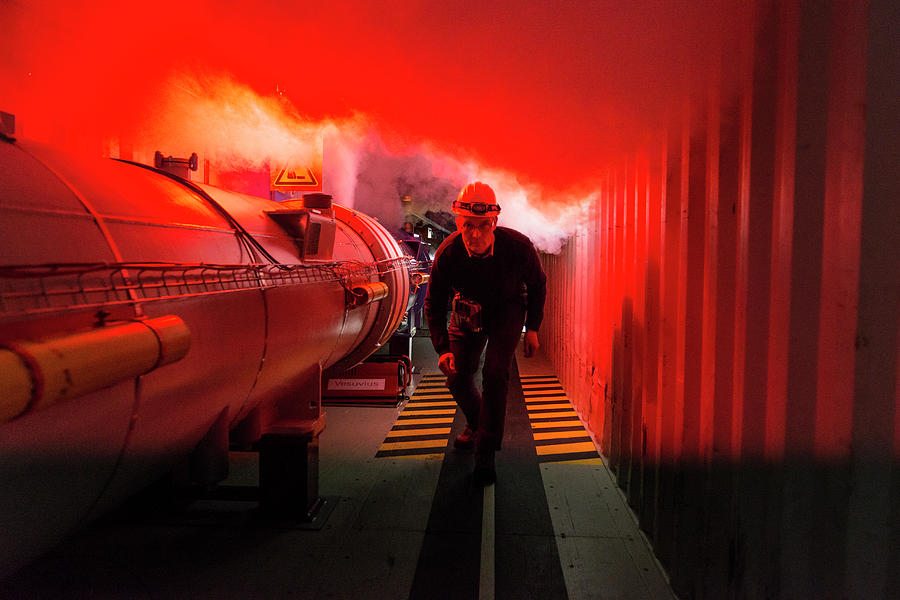 Equipment Photograph - Safety Training At Cern by Cern