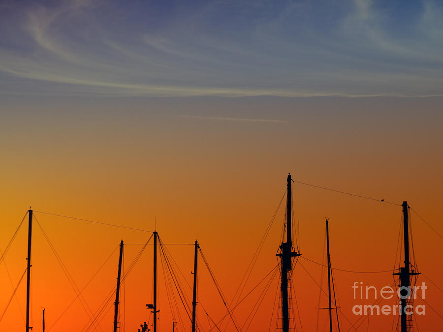 Sea Photograph - Sailing Boats by Stelios Kleanthous