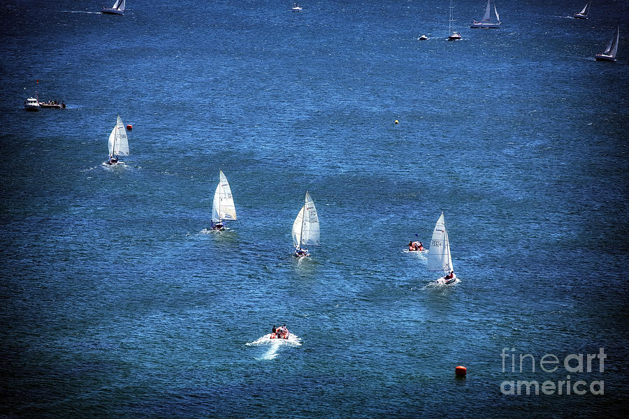 Sailing Photograph - Sailing by John Rizzuto