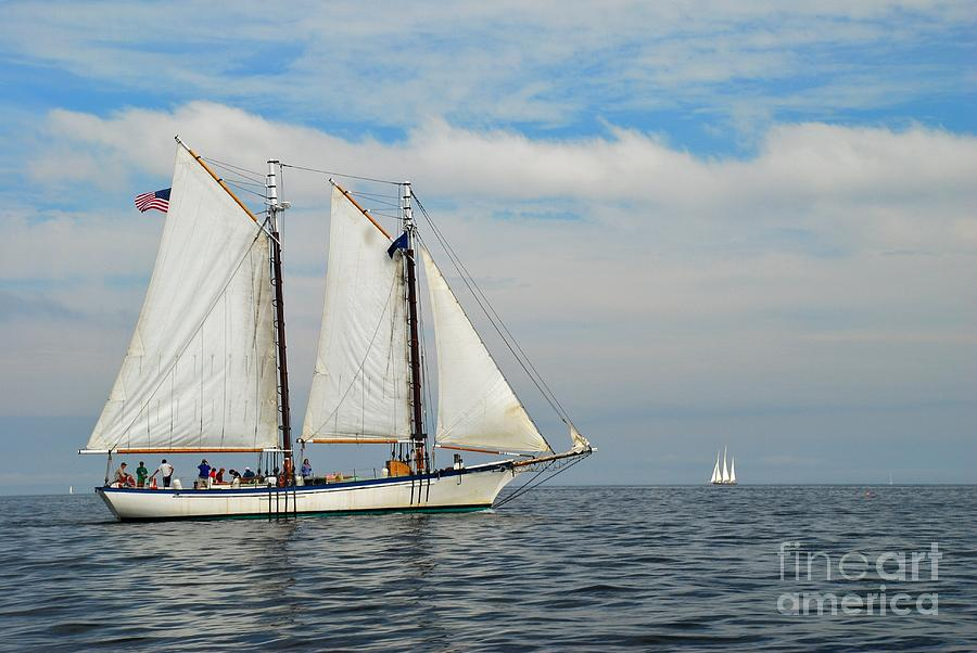 Sailing The Open Sea Photograph - Sailing The Open Seas by Allen Beatty
