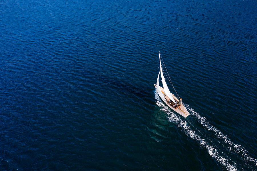 Sailing Photograph by Vuk8691