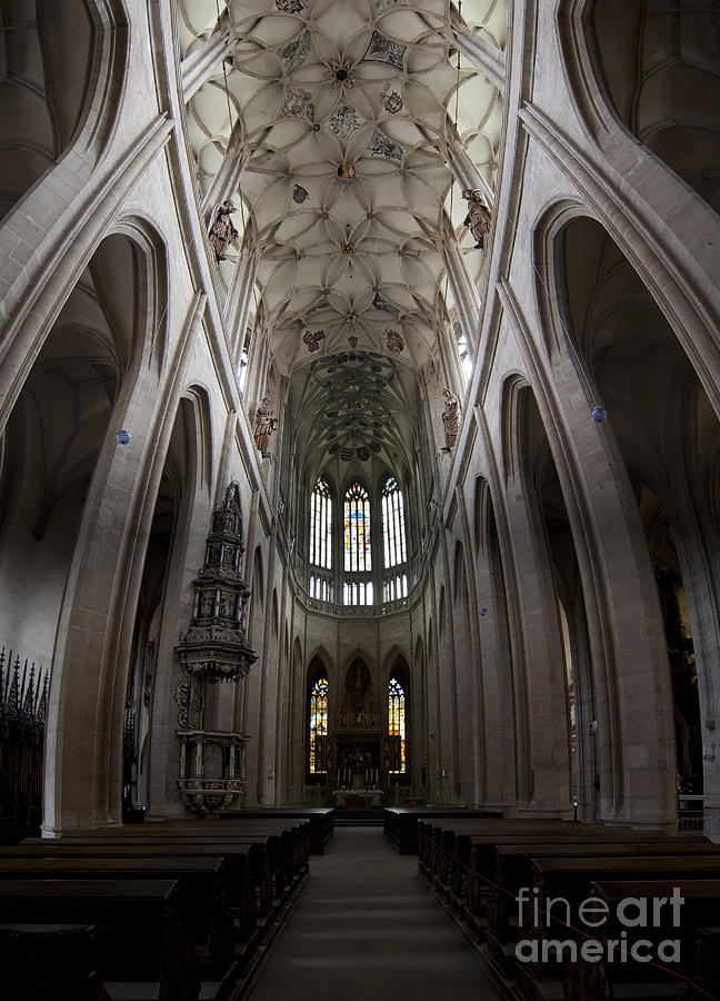 Kutna Hora Photograph - Saint Barbara Church Kutna Hora by Michal Boubin