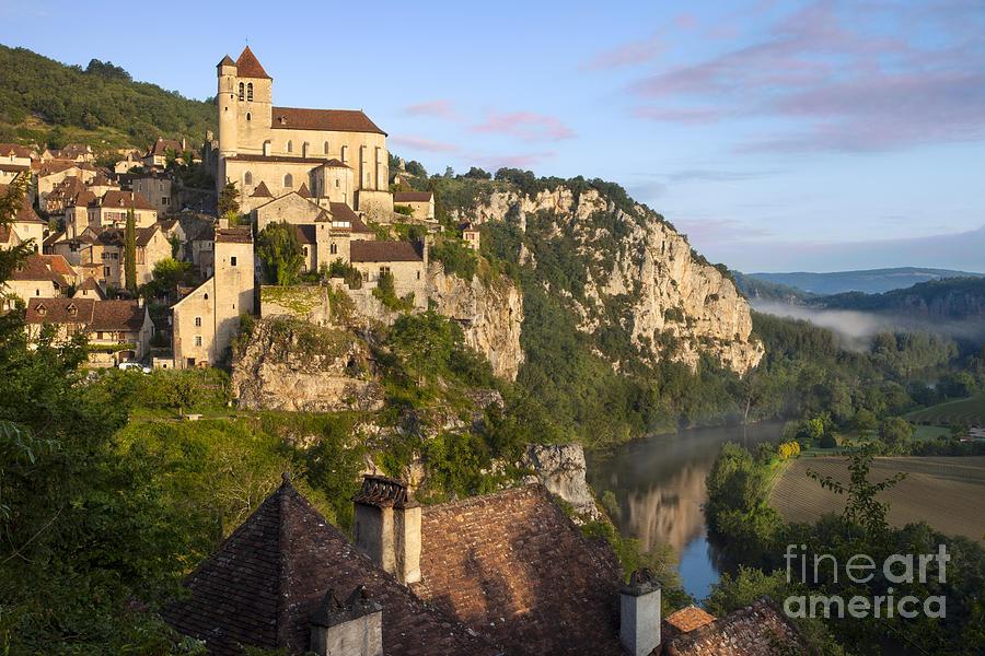 Buildings Photograph - Saint Cirq Lapopie by Brian Jannsen