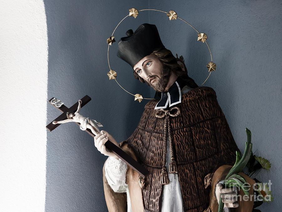 Saint John Photograph - Saint John Of Nepomuk by Agnieszka Kubica