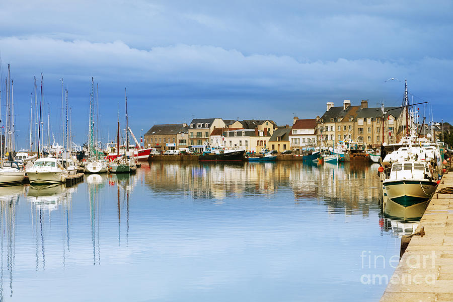 Calm Photograph - Saint-vaast-la-hougue Normandy France by Colin and Linda McKie