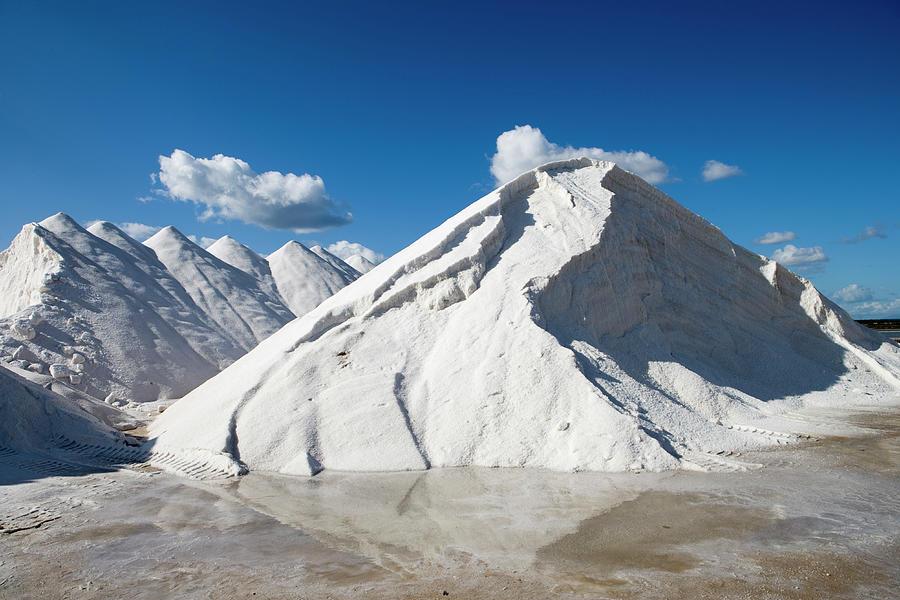 Salines De Llevant Salt Works Photograph by Holger Leue