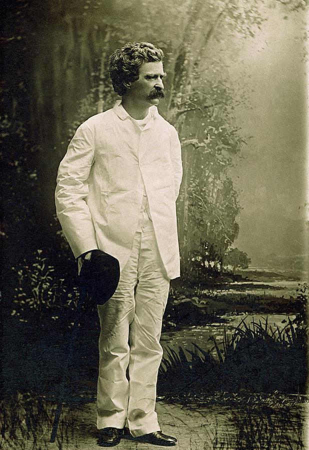 1888 Photograph - Samuel Langhorne Clemens (1835-1910) by Granger