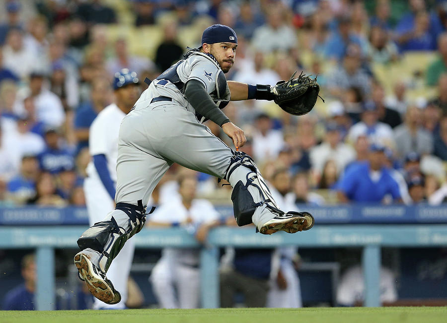 San Diego Padres V Los Angeles Dodgers 1 Photograph by Stephen Dunn
