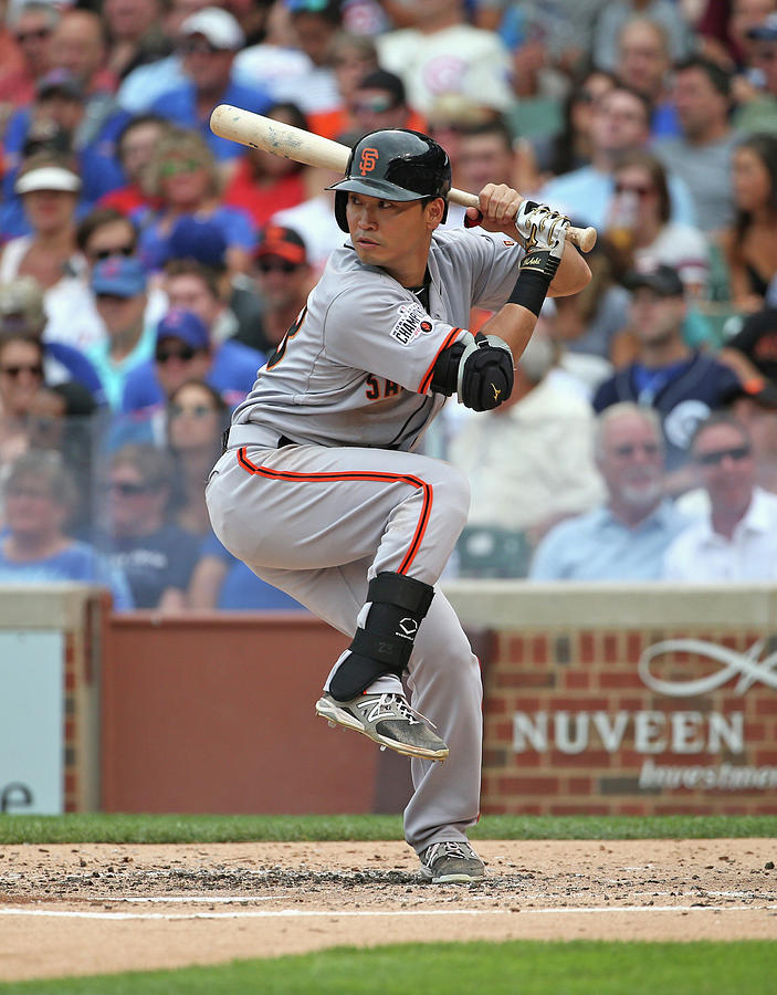 San Francisco Giants V Chicago Cubs Photograph by Jonathan Daniel