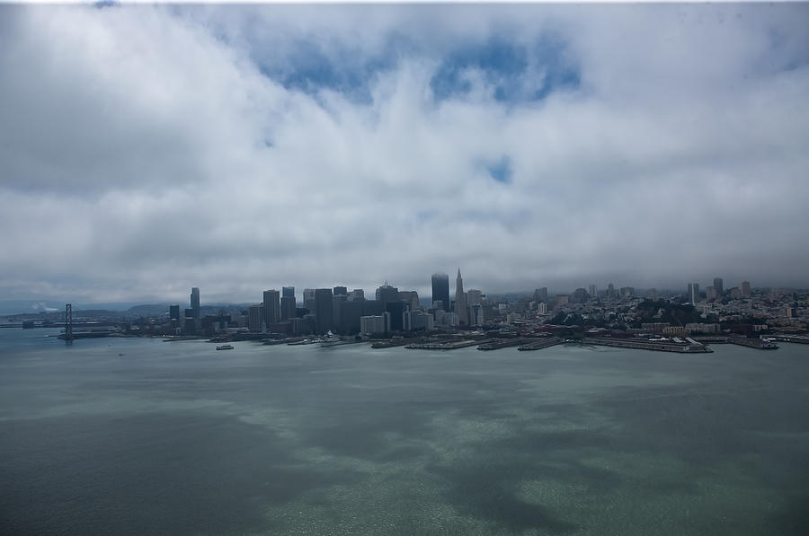 San Francisco Photograph - San Francisco Skyline by Steven Lapkin