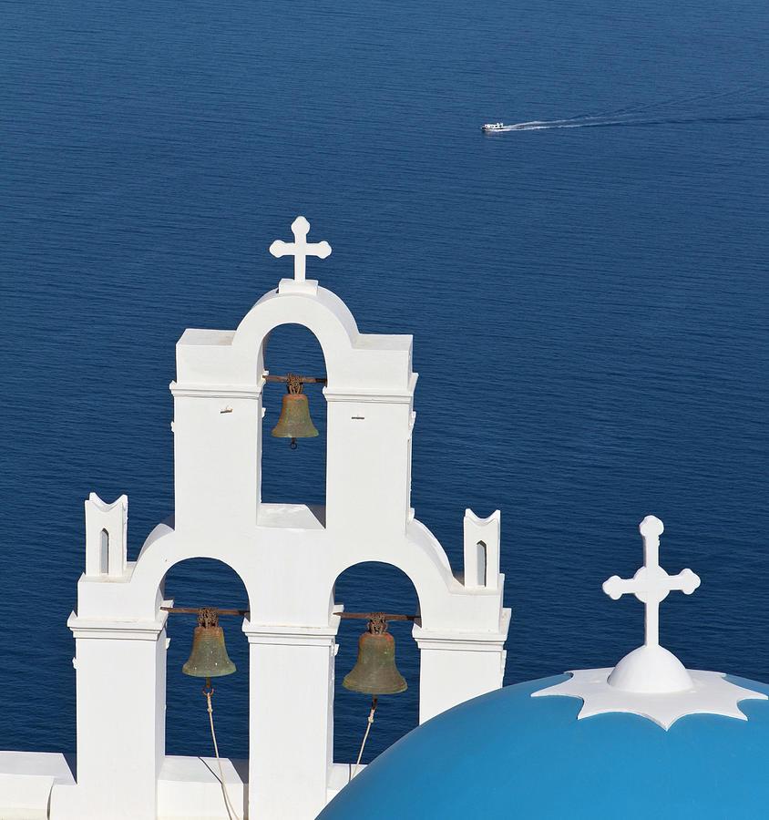 Santorini Classical Greek Church Photograph by Joakimbkk