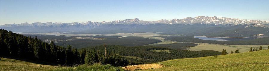Colorado Photograph - Sawatch Panoramic by Jeremy Rhoades