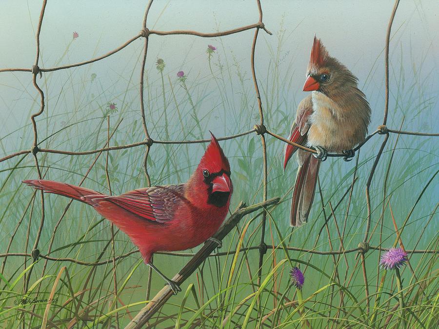 Scarlet Painting by Mike Brown