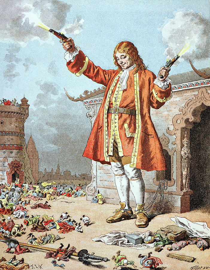 gullivers travels success as a satire Gulliver's travels is a complex work of adventure, satire, comedy and profound   to risk the wrath of the authorities, gulliver's travels was an overnight success,.