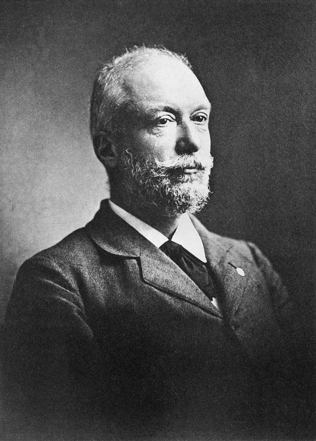 1890's Photograph - Scientist Auguste Forel by Underwood Archives