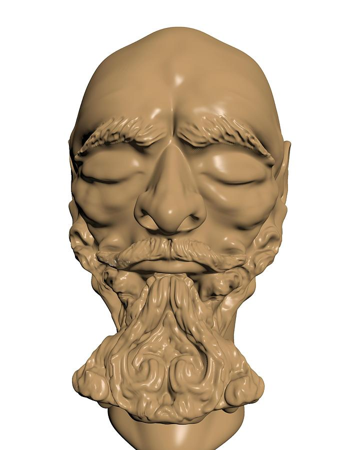 Sculpture Sculpture - Sculpture by Moshfegh Rakhsha