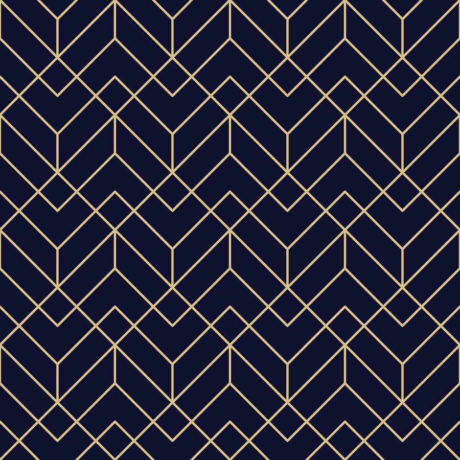 Seamless Geometric Pattern Drawing by Lasagnaforone
