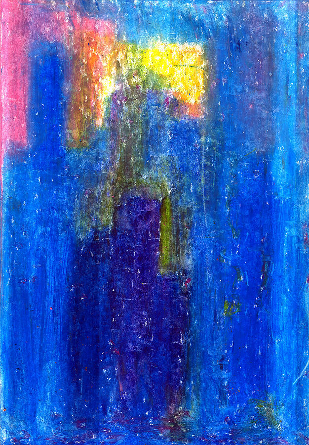 Abstract Pastel - Search For The Light by Yuri Lushnichenko