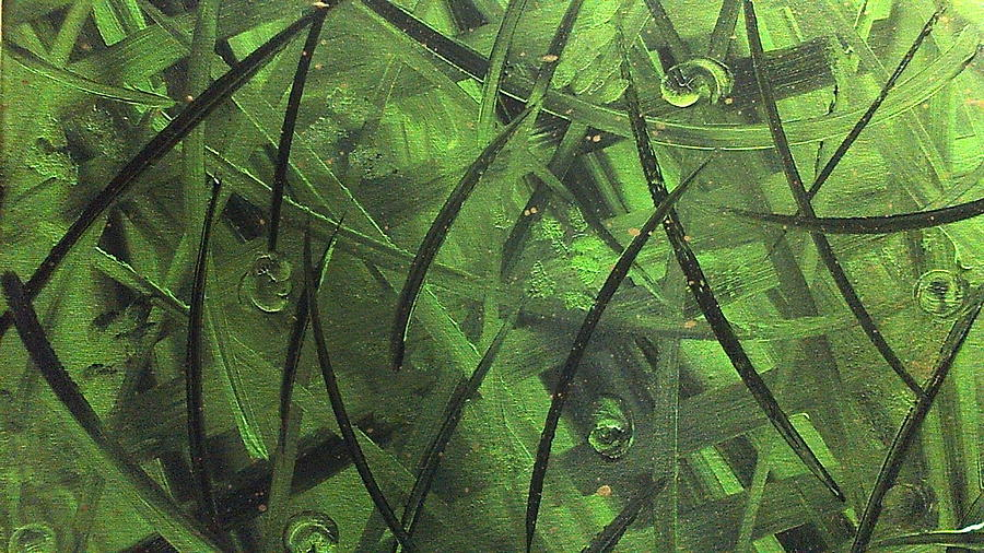 Abstract Painting Painting - Seaweed by Lisa Williams